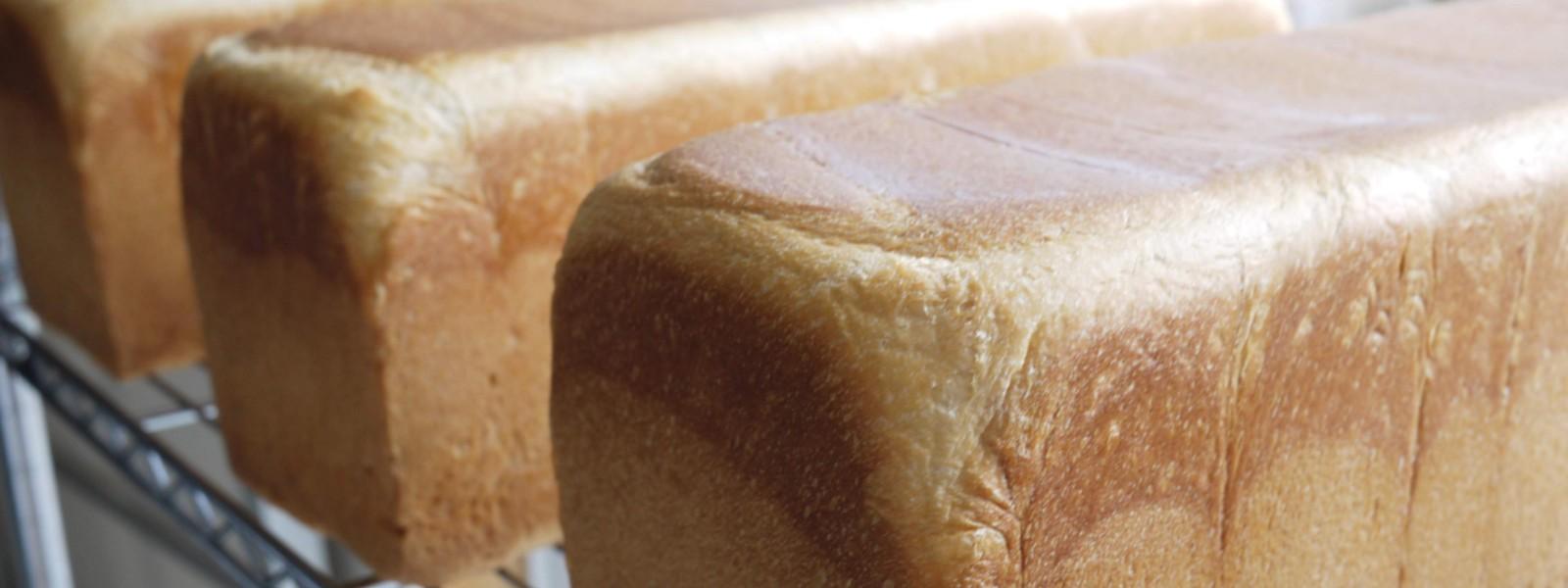焼き立てプルマン食パン